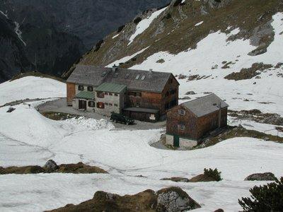 Lamsenjochhütte BHKW
