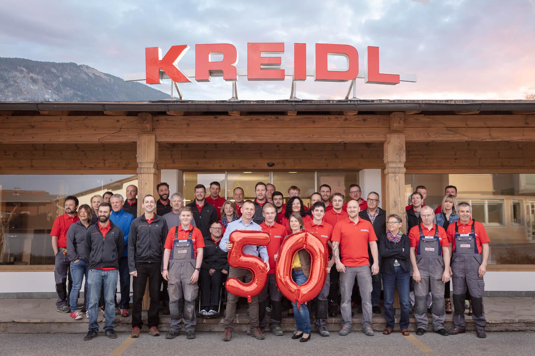 Kreidl-Team-50-Jahre